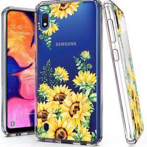 Samsung Galaxy, A10 Phone Case(Flower)